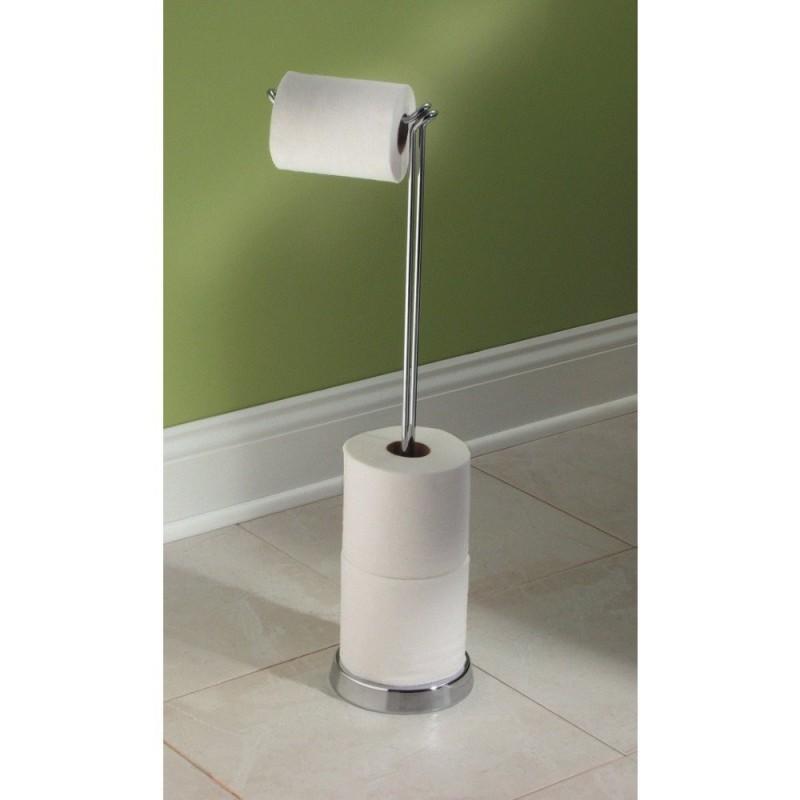 Porte papier wc design les derni res id es for Porte papier toilette sur pied