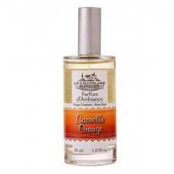 PARFUM D'AMBIANCE 50ML CANNELLE ORANGE LE CHATELARD