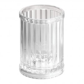 Verre à dent acrylique transparent alstom Interdesign
