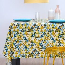 Nappe enduite triangles
