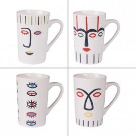 Coffret 4 mugs Awa