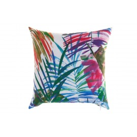 Coussin feuillages