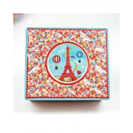 Boîte capiton Tour Eiffel