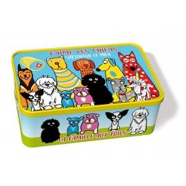 Boîte à sucre chien
