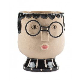 Cache pot visage Baden Collection