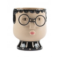 Cache pot visage Baden Collection