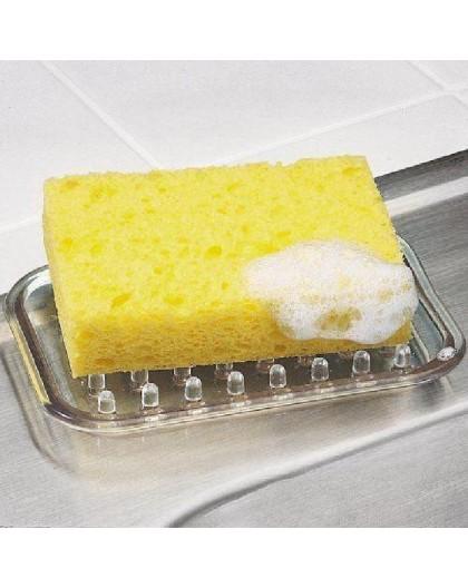 Porte savon plastique souple rectangle Interdesign