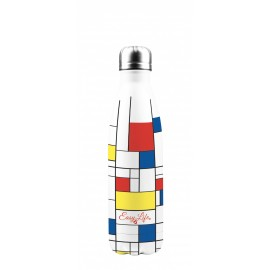 Bouteille isotherme mondrian