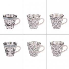 COLLECTION NELSON COFFRET 6 TASSES A CAFE