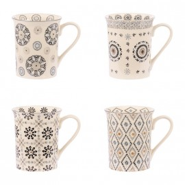 COLLECTION NELSON COFFRET 4 MUGS 30CL