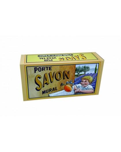 SAVON ROTATIF 260GR FLEUR DE COTON + SUPPORT LAITON