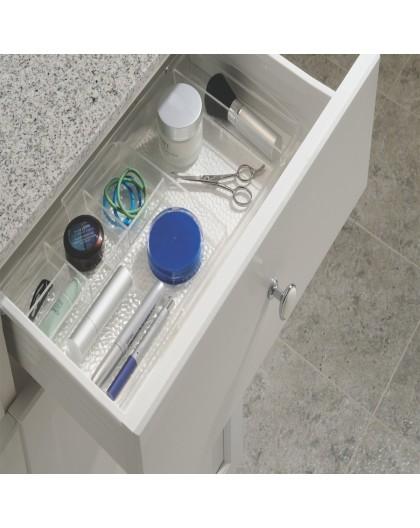 Organsieur de tiroir extensible en acrylique transparent maquillage Interdesign