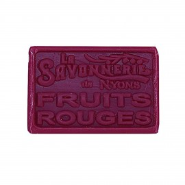SAVON 100GR FRUITS ROUGES