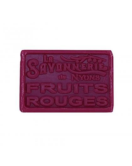 SAVON 100GR FRUITS ROUGES
