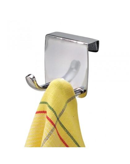 Accroche torchon têtes pour tiroir en inox Interdesign