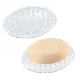 Porte savon ovale plastique souple Interdesign