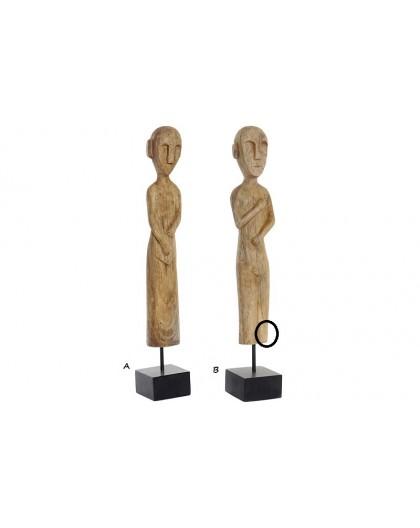 Statuette africaine en bois
