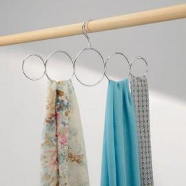 Porte foulard inox