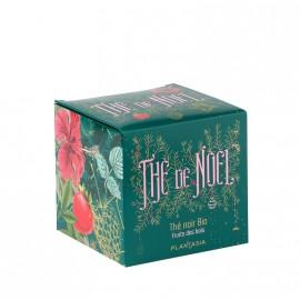 THE NOIR DE NOEL FRUITS DES BOIS BIO 24 SACHETS - BOITE METAL