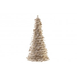 SAPIN PLUMES DORE 46CM