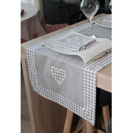 NAPPE CAMPAGNE VICHY GRIS