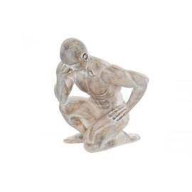 Statuette penseur