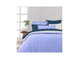 DRAP HOUSSE 140X200CM PERCALE DE COTON UNI 80 FILS/CM²